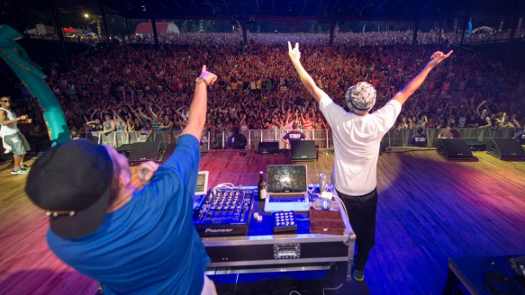 Flosstradamus at the Mad Decent Block Party D.C.