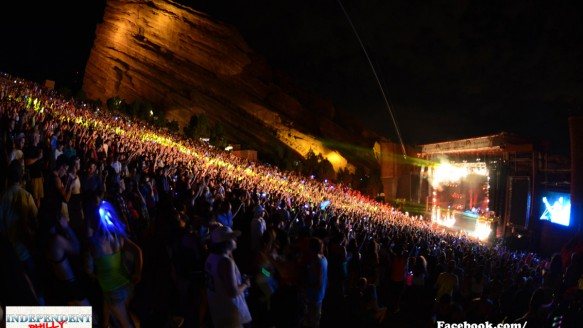 Global Dance Festival Day 2 at Red Rocks in Colorado