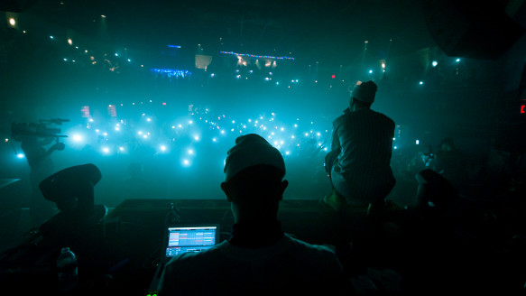 Flosstradamus at the 9:30 Club during the IRL Tour