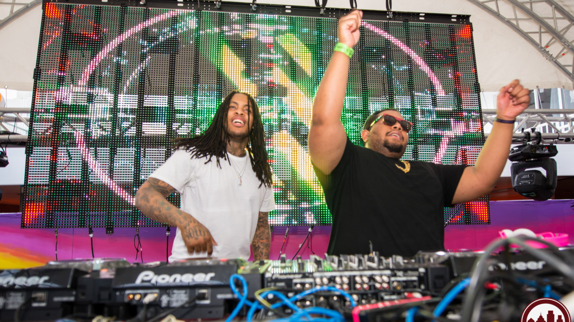 Day & Night Pool Party at The Shelbourne Hotel with the Chipotle Gang and Waka Flocka Flame