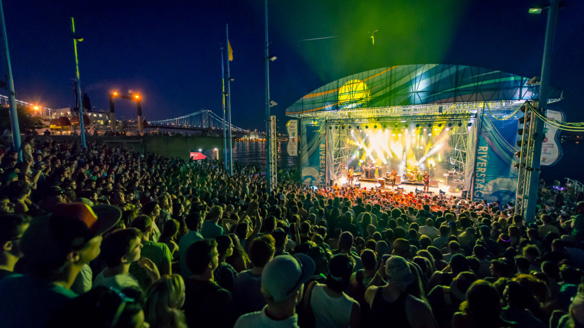 Jam On The River at Penn's Landing with Lotus, Griz and many more