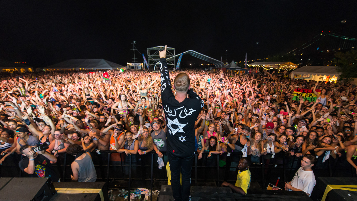 2014 Mad Decent Block Party at Festival Pier