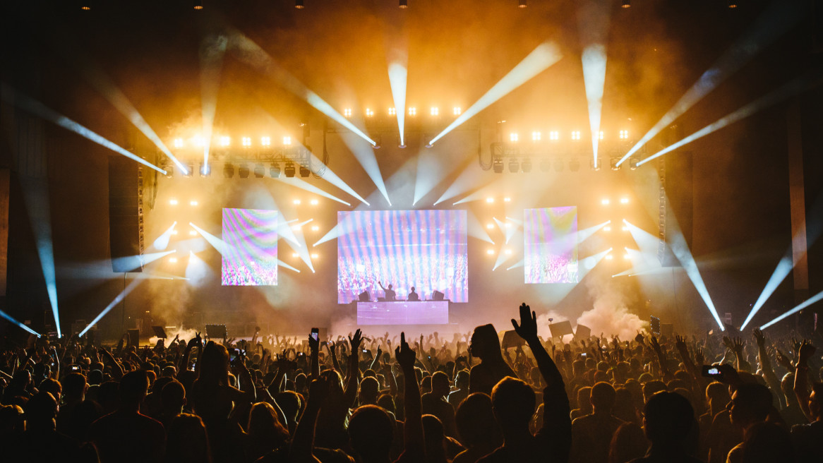 Above & Beyond, Seven Lions at the Susquehanna Bank Center