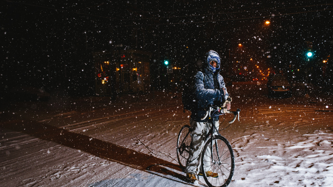 5 AM Northern Liberties Snowstorm Exploration