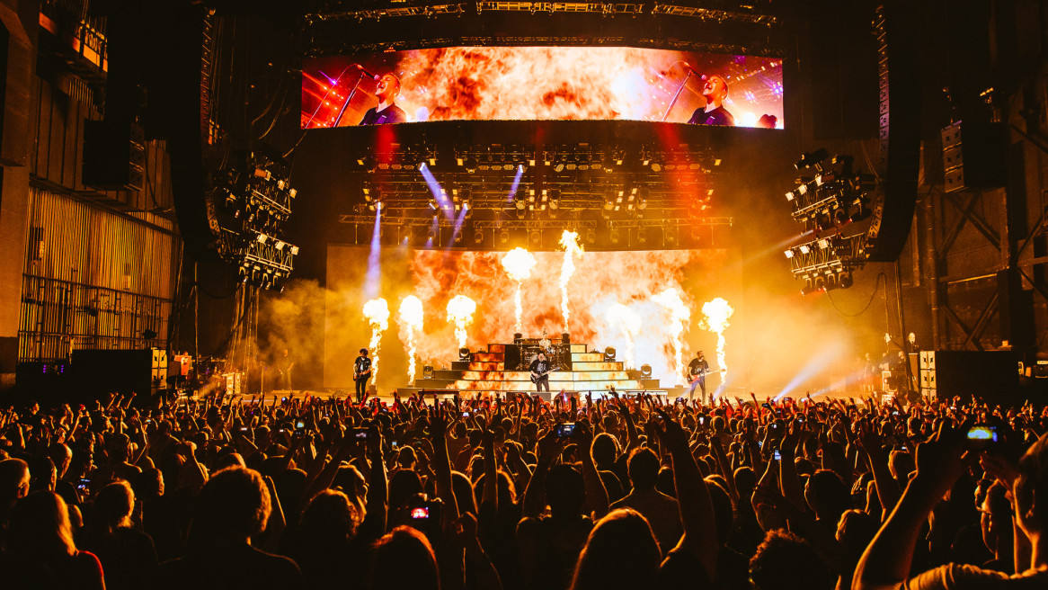 Fall Out Boy & Wiz Khalifa at The Susquehanna Bank Center